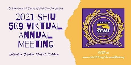 2021 Virtual Annual Meeting entradas