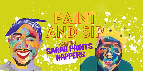 Rappers Paint and Sip tickets
