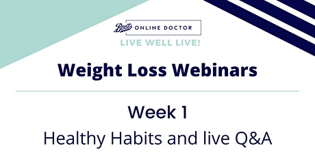 Live Well LIVE! - Week 1: Healthy Habits tickets