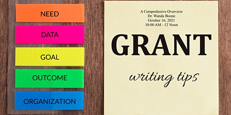 Grant Writing - A Review tickets