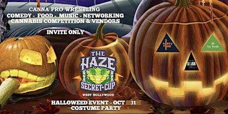 "Haze Secret "" Halloween Cup "" (West Hollywood) tickets"