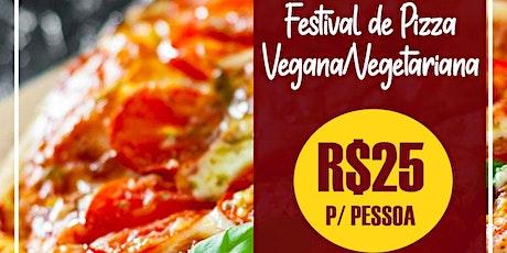 Festival de pizza Vegana/Vegetariana ingressos