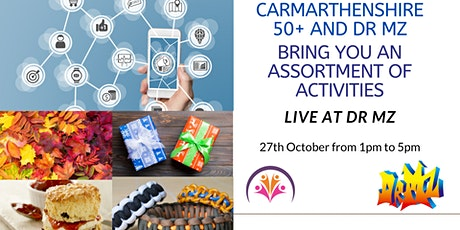 Carmarthenshire 50+ and Dr Mz test project tickets