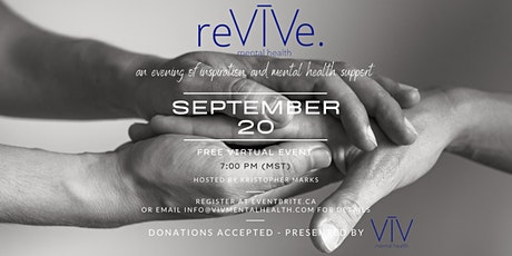 ReVIVe - An Evening of Inspiration and Mental Health Support tickets