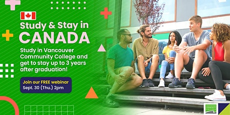 Study & Stay in Vancouver, Canada! tickets