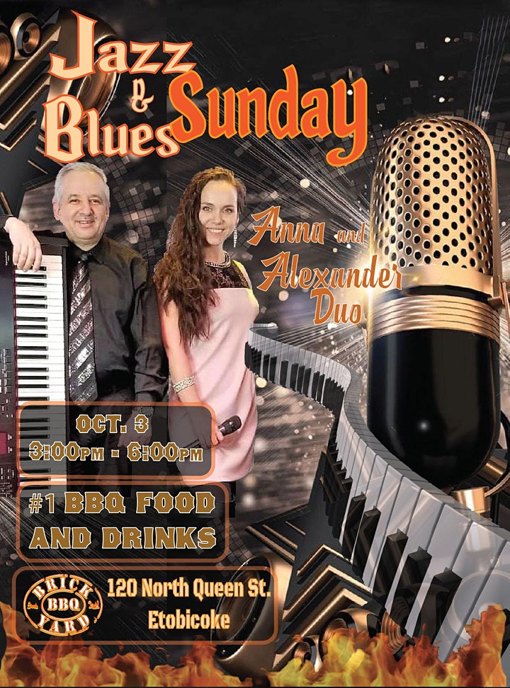 Anna & Alexander Duo Piano JAZZ Show!   (Table Reservations) image