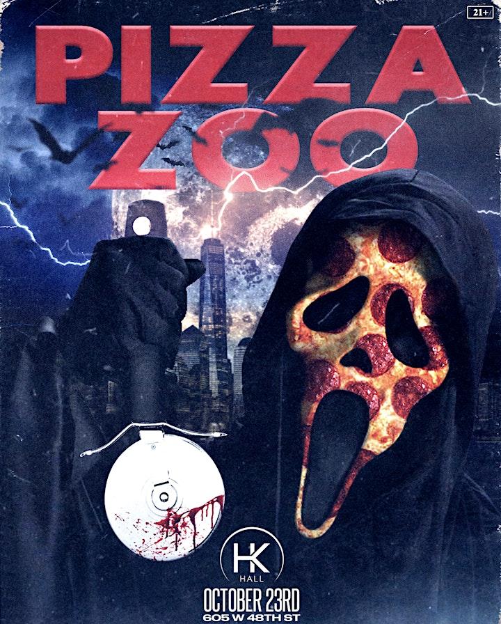 Pizza Zoo Halloween image