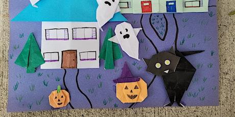 Origami Pumpkin (Halloween Craft Workshop, Fun KIDS Paper Folding ) tickets
