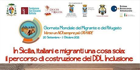 Convegno sulla prima legge sull'accoglienza e inclusione in Sicilia biglietti