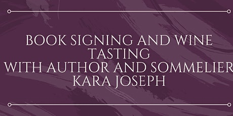 Miner Family Wines Book Signing tickets
