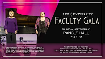 Performing Arts Series: Faculty Gala tickets