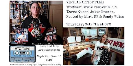 MIX TAPE Virtual Artist Talk: Ernie Paniccioli & Julie Kramer tickets
