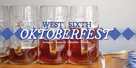 West Sixth Oktoberfest - LEXINGTON TABLE PACKAGES tickets
