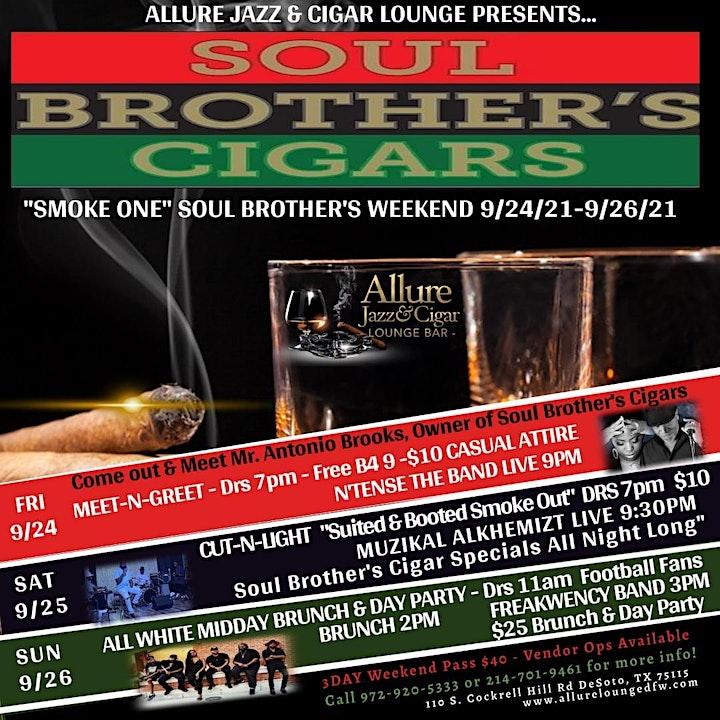 Soul Brothers Cigar Weekend @ Allure Jazz & Cigar Lounge image