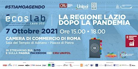 La regione Lazio dopo la pandemia Tickets