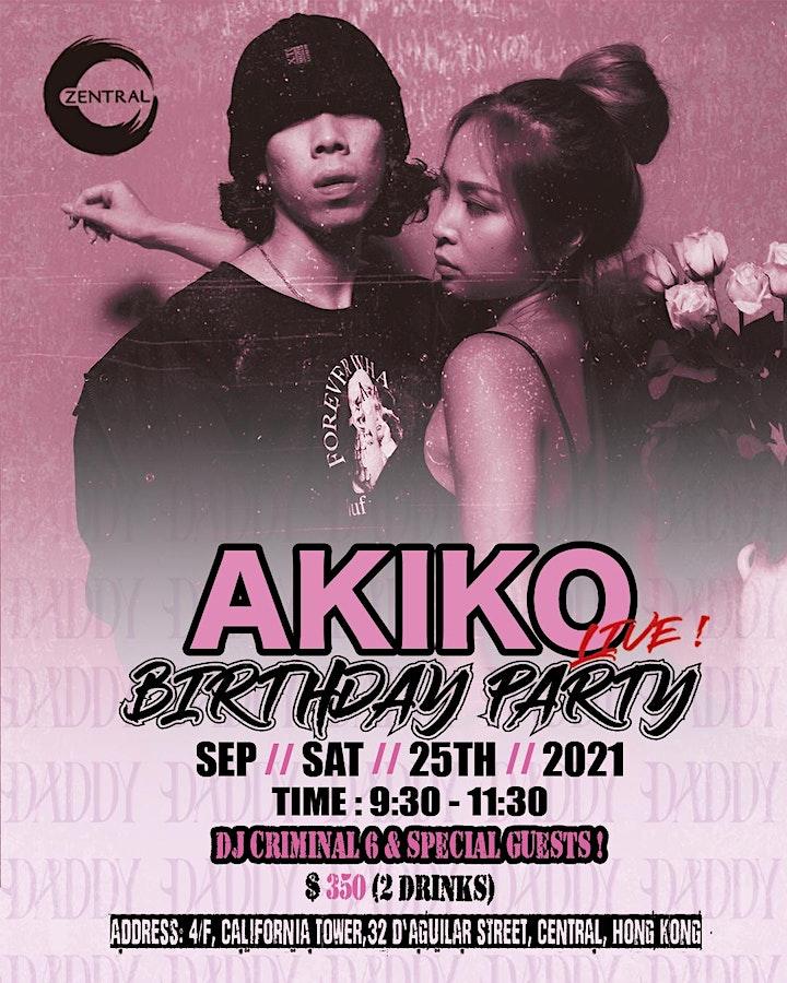 (Limited)!!! 25/9 AKIKO Birthday Party image