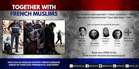 Together With French Muslims tickets