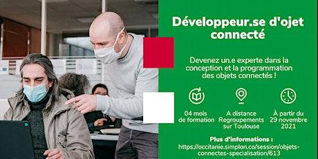 INFO CO - TOULOUSE / Développeur d'objet connecté - Simplon (en présentiel) billets