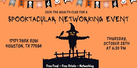 Spooktacular Networking Event! tickets