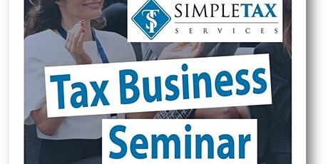 SimpleTax Learn & Grow Your Business tickets