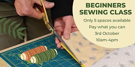 Beginners Sewing Class tickets