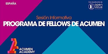 Programa de Fellows de Acumen entradas