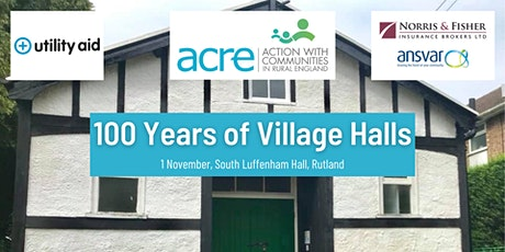 Village Halls Centenary Celebration tickets