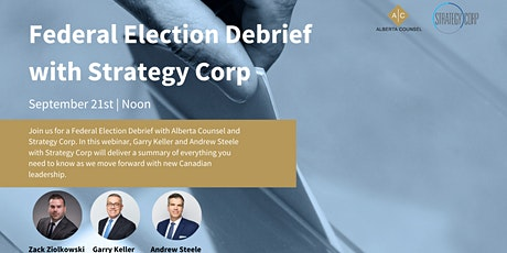 Federal Election Debrief with Strategy Corp tickets