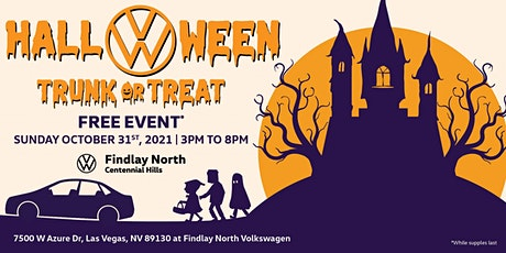 Findlay North Volkswagen Trunk or Treat. tickets