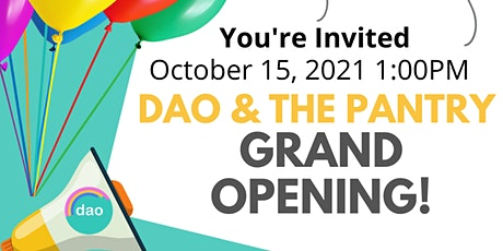 Durham Alliance Outreach & DAO Pantry Grand Opening tickets