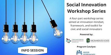 Information Session for Social Innovation Workshop Series tickets