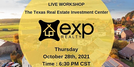 EXP Realty  (Live Workshop) tickets
