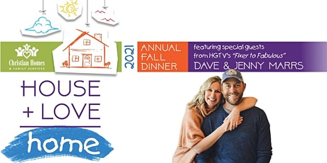House + Love = Home Fall Dinner featuring HGTV's Dave & Jenny Marrs - Tyler tickets
