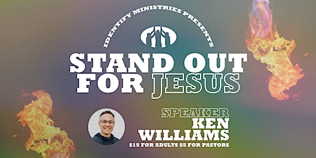 Stand Out For Jesus Fundraiser tickets