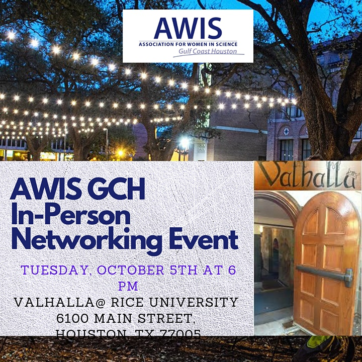 In-Person Networking Event, October 5th, 2021 at 6 PM image