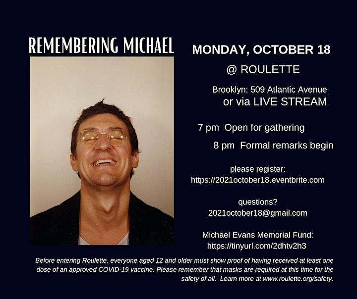 Michael Evans Memorial image