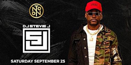 DJ Stevie J @ Noto Philly September 25th tickets