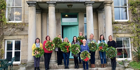 Christmas Wreath Making at Netherdale House Tue 23rd Nov at 6.30pm tickets