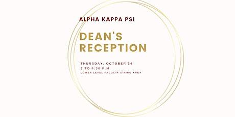 Alpha Kappa Psi Dean's Reception tickets