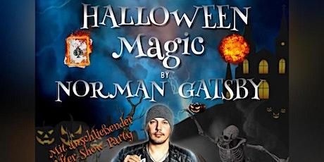 "Norman Gatsby ""Halloween Magic"" Tickets"
