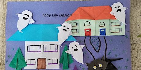 Origami Ghost (Halloween Craft Workshop, Fun KIDS Paper Folding ) tickets