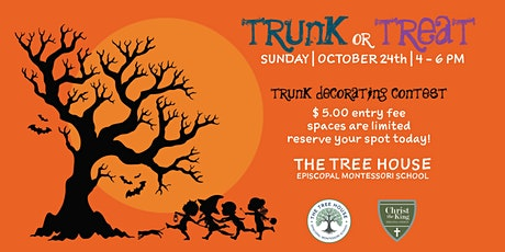 Trunk or Treat:: The Tree House Episcopal Montessori School + CTK tickets