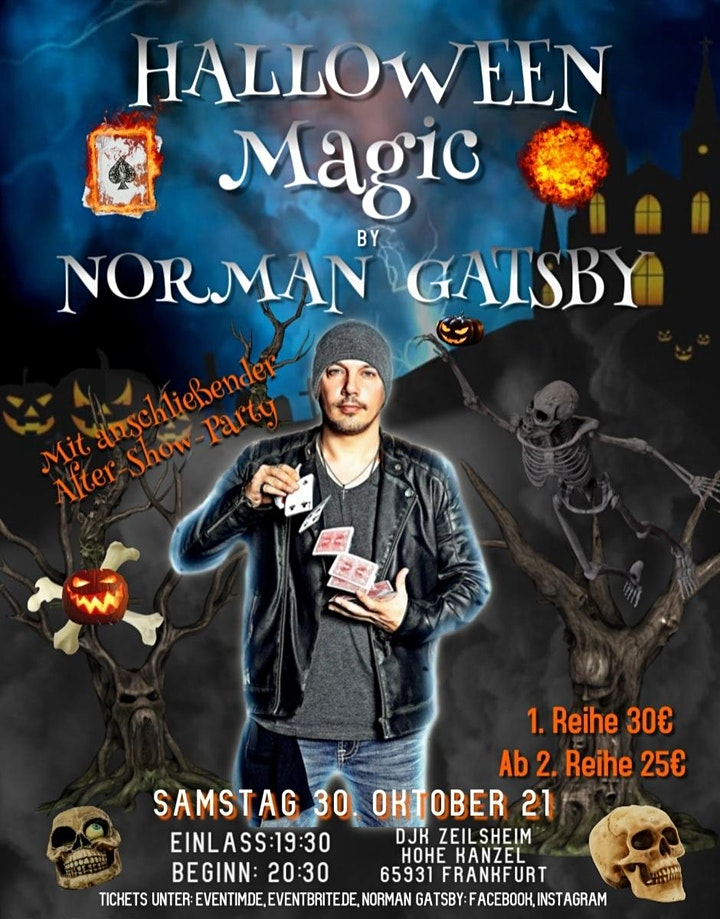 "Norman Gatsby ""Halloween Magic"": Bild"