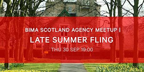 BIMA Meetup | Late Summer Fling Edinburgh tickets