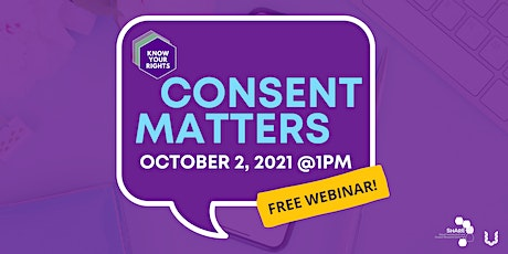 Consent Matters: Understanding Consent in Law and Culture tickets