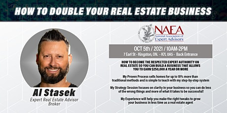How To Double Your Real Estate Business: Kingston tickets