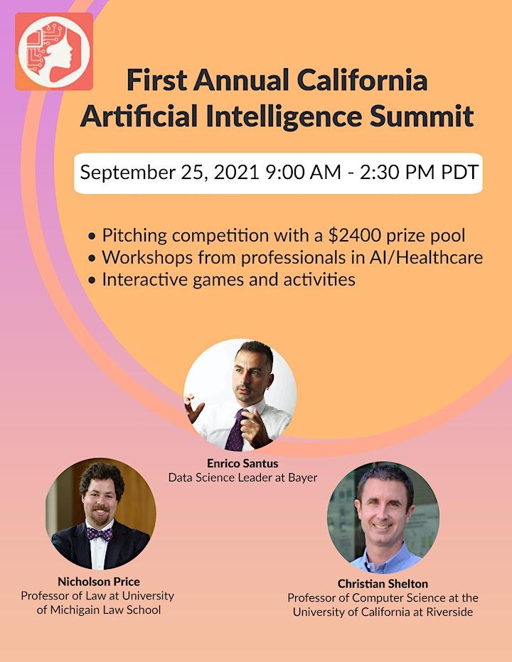 2021 California AI and Healthcare Summit image