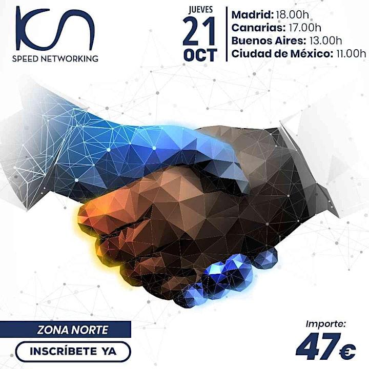Imagen de KCN Speed Networking Online Zona Norte 21 OCT