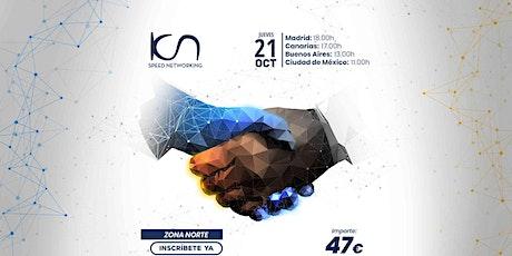 KCN Speed Networking Online Zona Norte 21 OCT entradas