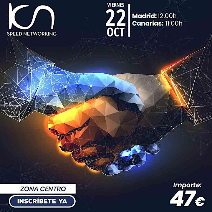 Imagen de KCN Speed Networking Online Zona Centro 22 OCT